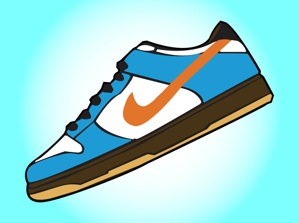 Wiping shoes clipart vector free stock Gallery For Nike Shoe Clipart - Free Clipart vector free stock