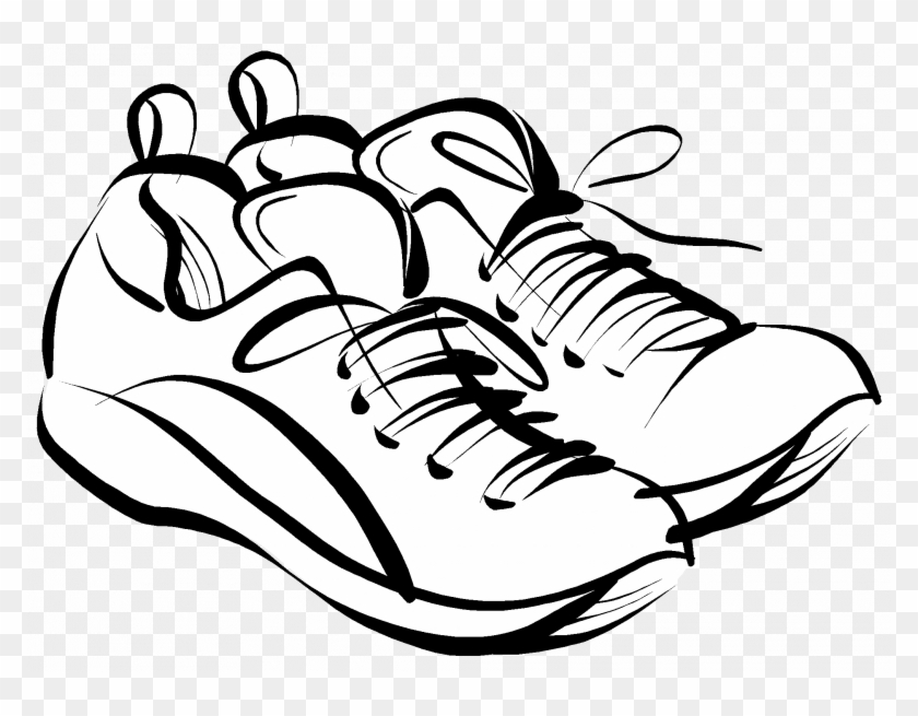 Wiping shoes clipart picture library library Running Shoes Drawing At GetDrawings.com | #300256 ... picture library library