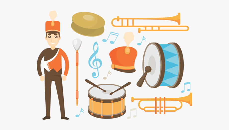 Wire marching people clipart jpg free stock Applause Clipart Brass Band - Vector Marching Band Png ... jpg free stock