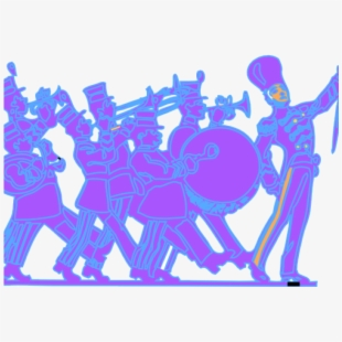 Wire marching people clipart vector freeuse Band Clipart Drum Corps - March Fourth Day #1879569 - Free ... vector freeuse
