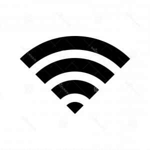 Wireless connection clipart black and white download Wi Fi Death Wifi Mortal Wireless Connection Skull Icon ... black and white download