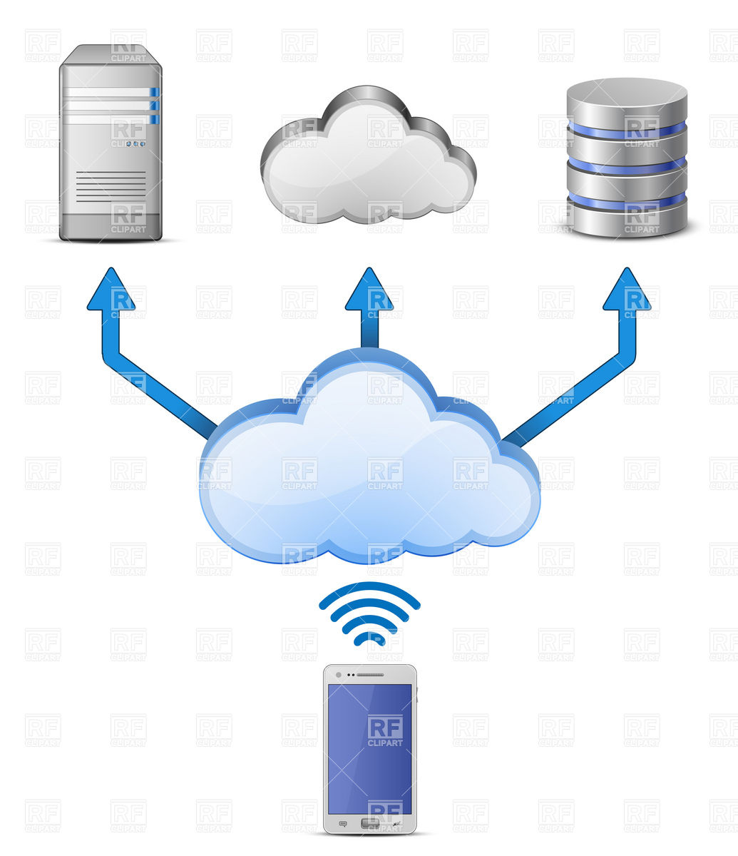 Wireless connection clipart clipart transparent library Cloud Computing Clipart & Look At Clip Art Images - ClipartLook clipart transparent library