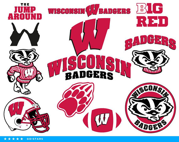 Wisconsin badgers logo clipart graphic free download Badgers svg – Wisconsin Badgers svg – Badgers clipart ... graphic free download