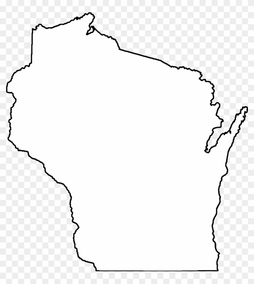 Wisconsin clipart heart royalty free download How To Draw A Us Map Outline Usa Clipart Outline - Wisconsin ... royalty free download