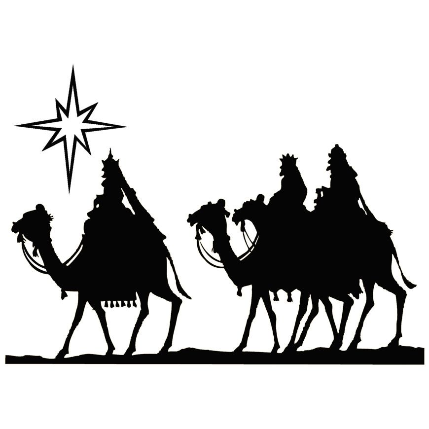 Wise men following star clipart public domain clip transparent library Wise Men Clipart Black And White Magi Wise Men Clipart ... clip transparent library