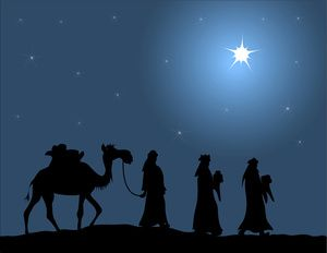 "Wise men following star clipart public domain clip royalty free Every Christmas give children three gifts: one ""gold"" gift ... clip royalty free"