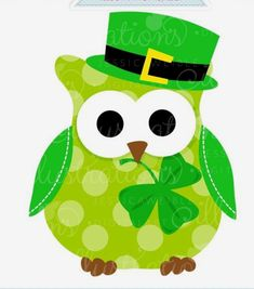 Wise owl st patrick clipart png transparent stock 141 Best st patty\'s images in 2019 | St pattys, St patrick ... png transparent stock