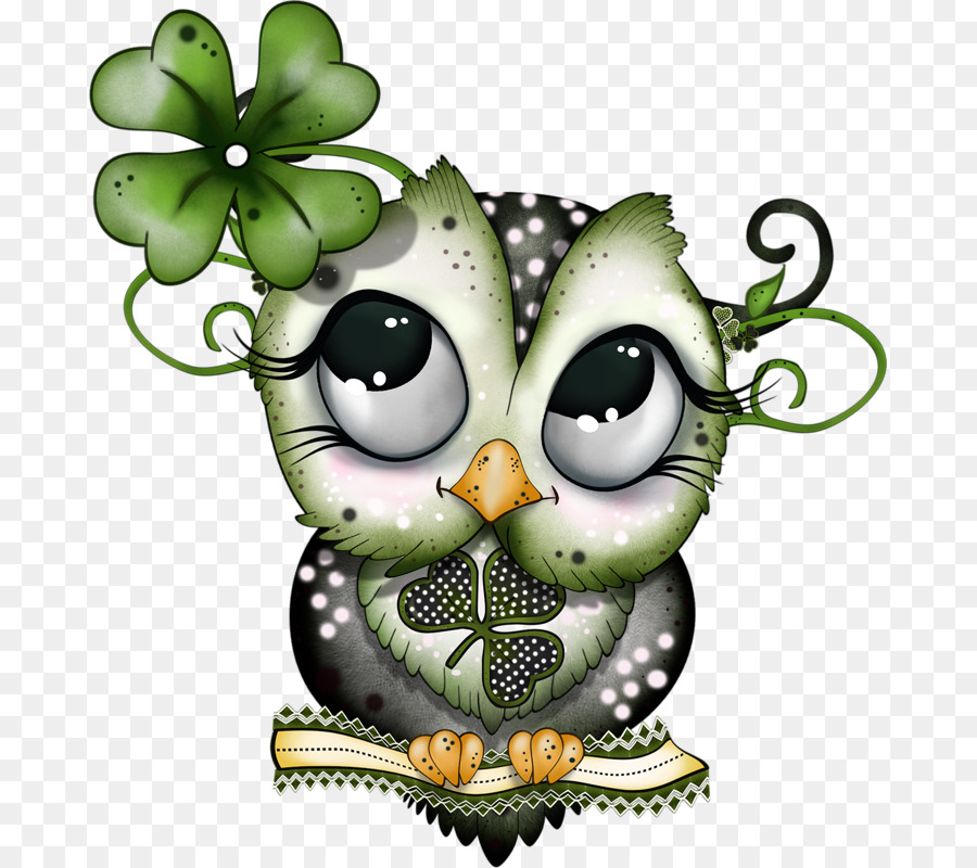 Wise owl st patrick clipart svg free download Owl Cartoon png download - 735*800 - Free Transparent Owl ... svg free download