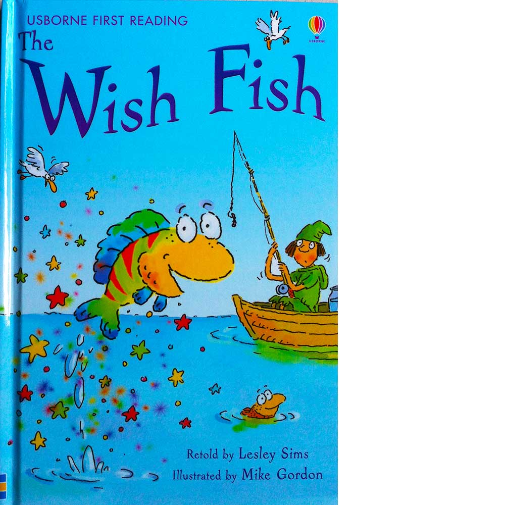 Wish for a fish clipart clipart black and white library Wish Fish (First Reading) (First Reading Level One) clipart black and white library