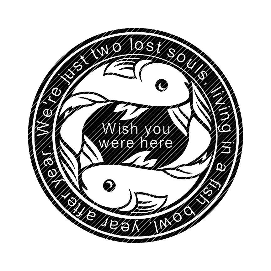 Wish for a fish clipart jpg library library Two lost souls swimming in a fish bowl wish you were here ... jpg library library