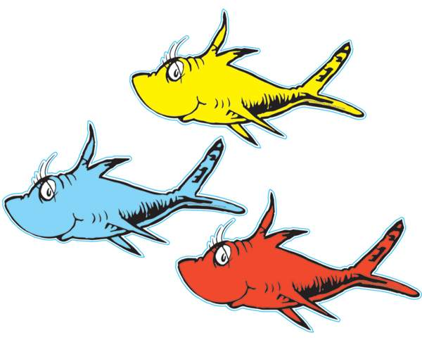 Two fishe clipart clip free one-fish-two-fish-dr-seuss-clipart-free-clip-art-images ... clip free