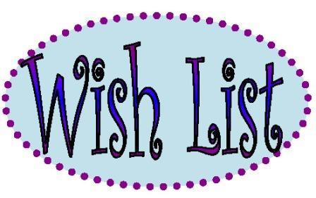Wish list jpg black and white library Wish List Clipart - Clipart Kid jpg black and white library