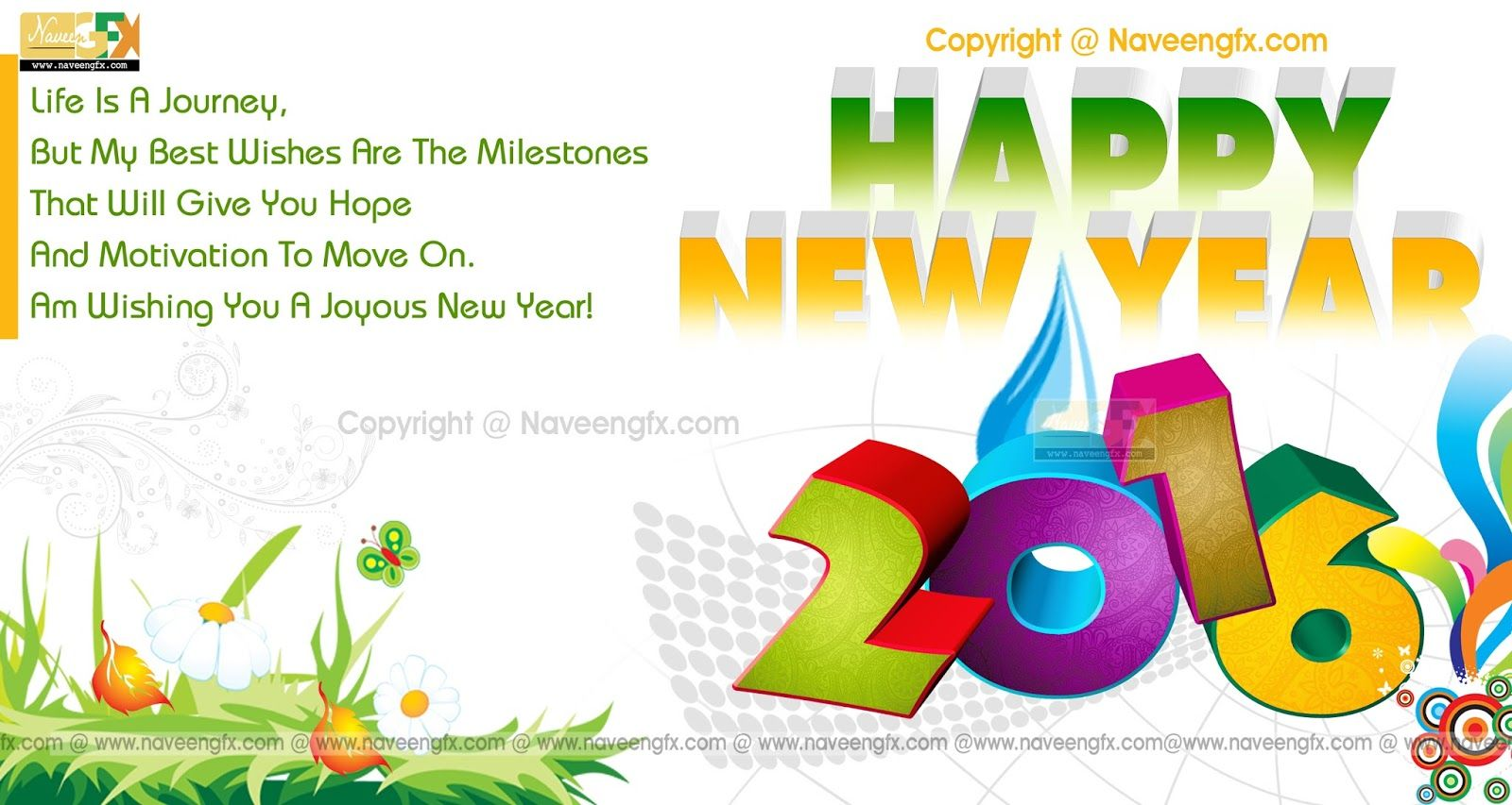 Wishing you a happy new year 2016 clipart png royalty free download Pin by Ramanaathan Subramanian on Uma Paper Mart | Happy new ... png royalty free download