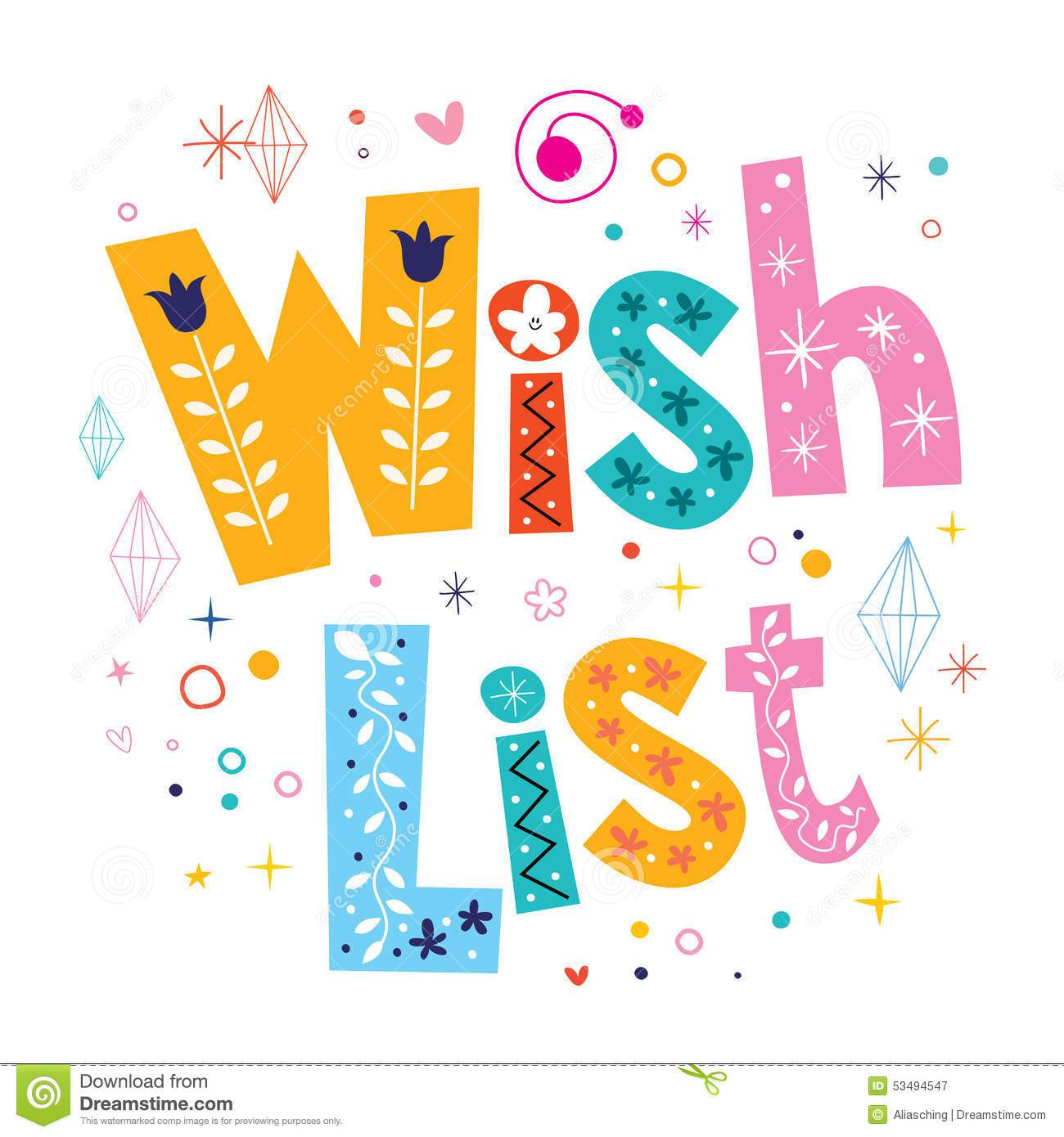Wishlist clipart royalty free library Wishlist clipart 7 » Clipart Portal royalty free library