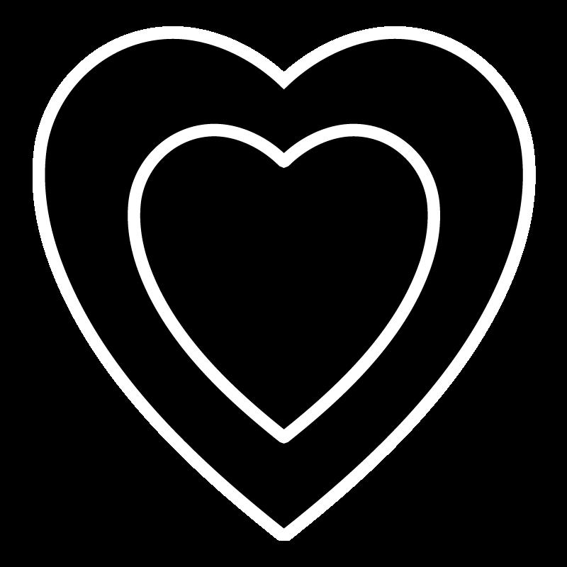 Wispy heart clipart jpg free library Natural Black - Anna Sheffield jpg free library
