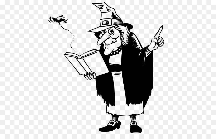 Witch book free clipart banner black and white download Black And White Booktransparent png image & clipart free ... banner black and white download