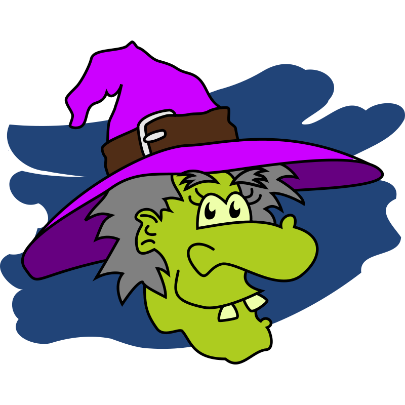Witch clipart nose banner freeuse stock Cartoon Witch Clipart   Free download best Cartoon Witch ... banner freeuse stock