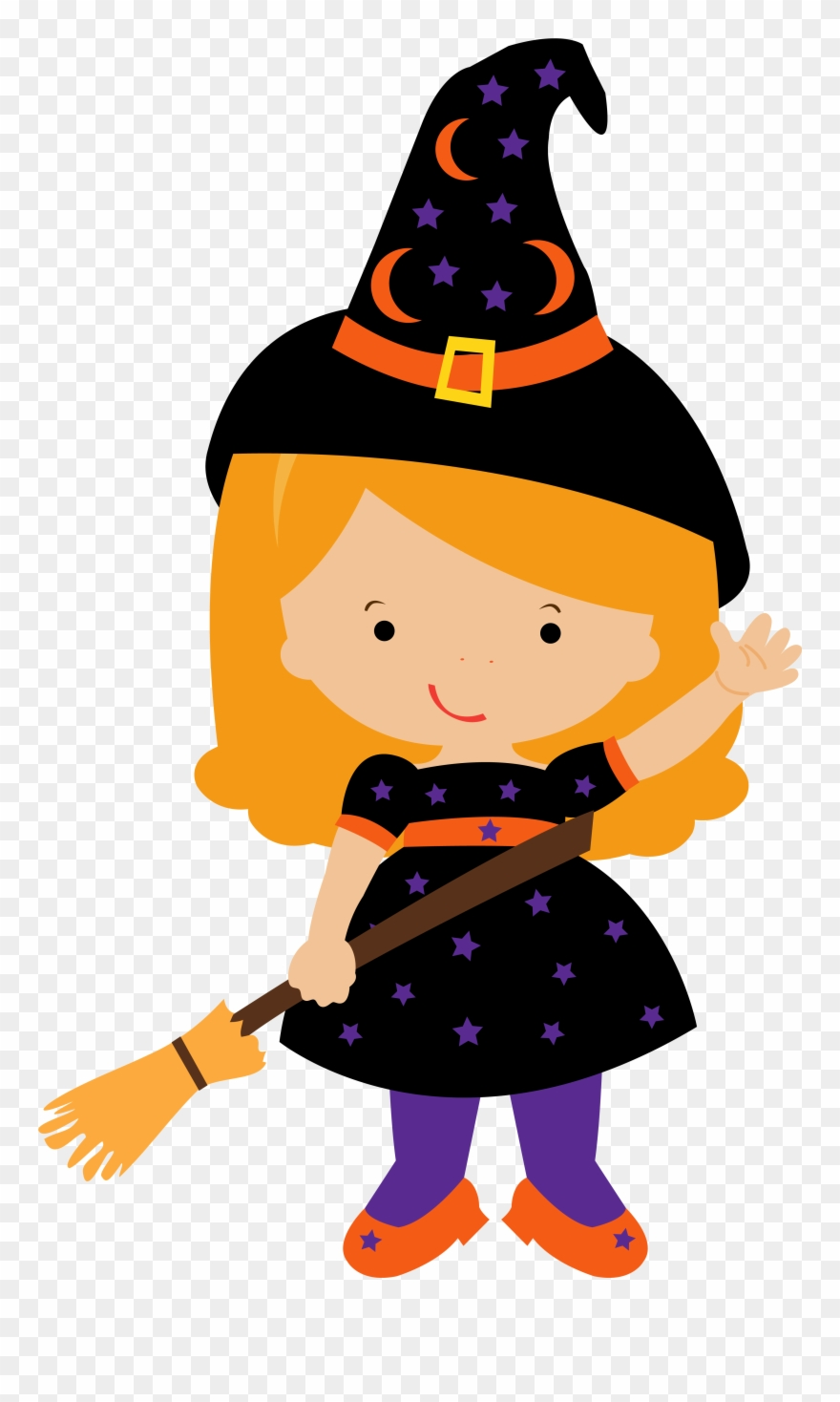 Witch clipart png image transparent library Free Halloween Witch Clipart 13 Clip Art - Transparent ... image transparent library
