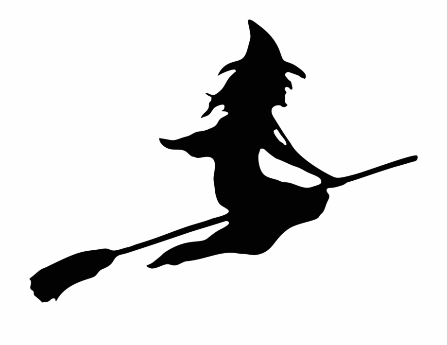 Witch clipart png clipart transparent Witch Clipart Broom - Halloween Witch On Broom Free PNG ... clipart transparent