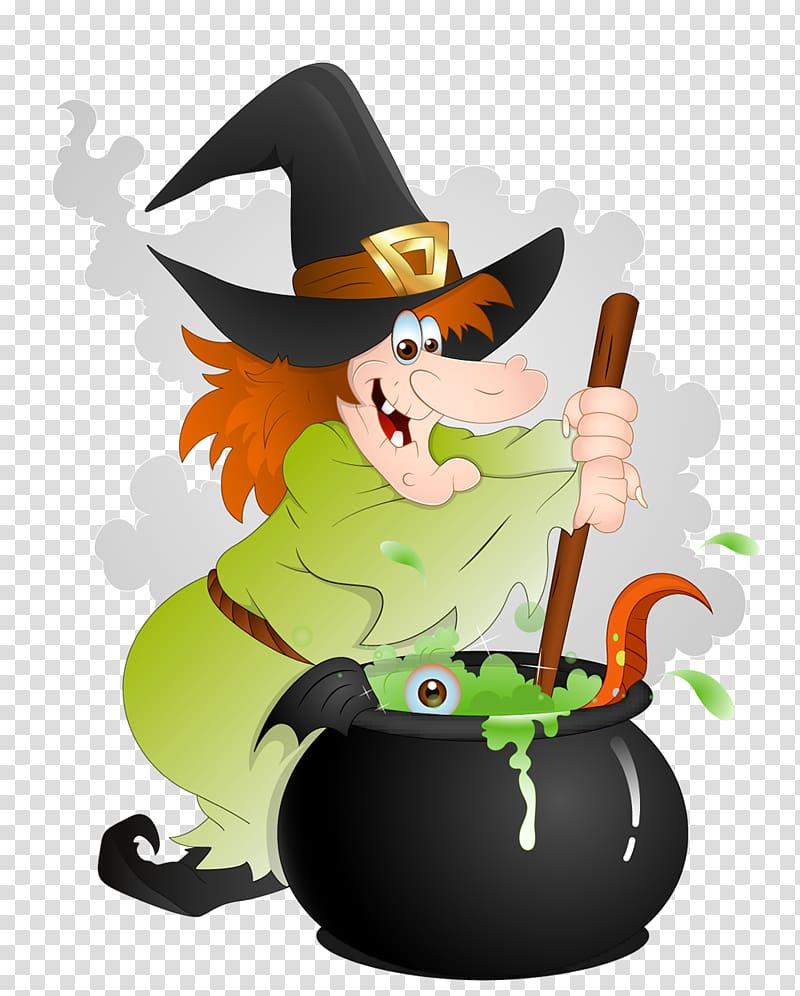 Witch craft clipart png library library Cooking witch , Halloween Witchcraft , Halloween Witch with ... png library library