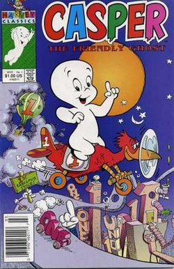Witch ghost alcohol clipart picture library stock Casper the Friendly Ghost - Wikipedia picture library stock