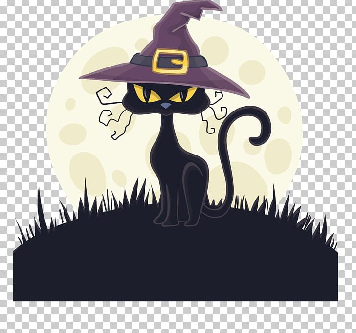 Witch hat clipart cat vector Cat Witch Hat Witch Hat PNG, Clipart, Art, Atmosphere, Black ... vector