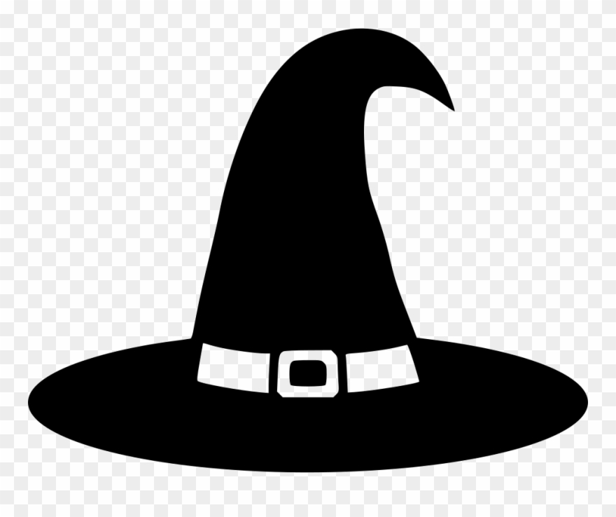 Witch hat clipart free jpg royalty free stock Witch Hat Svg Png Icon Free Download 557198 Backpack - Black ... jpg royalty free stock