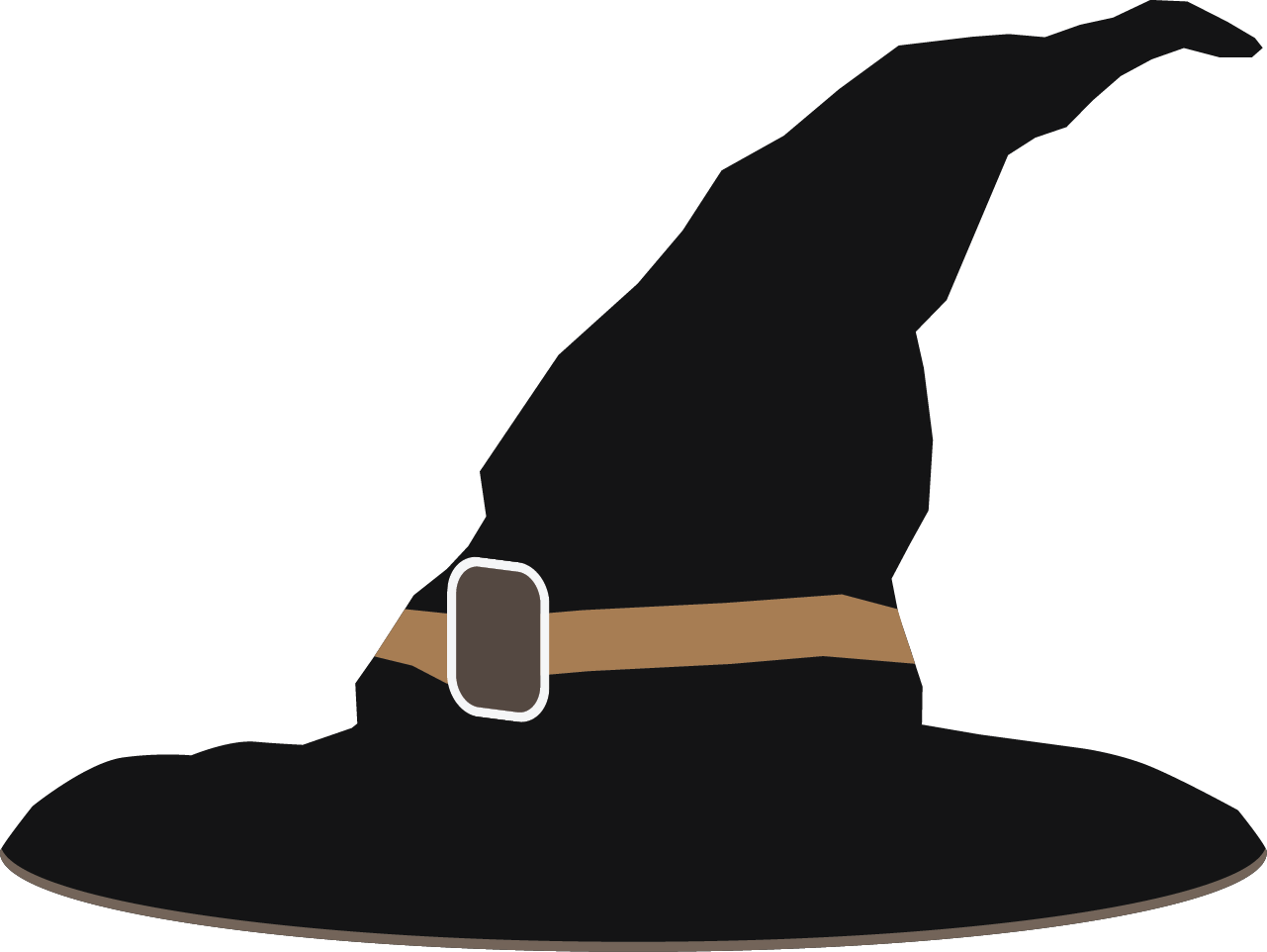 Witch hat illustration free clipart vector black and white library Free Witch\'s Hat Cliparts, Download Free Clip Art, Free Clip ... vector black and white library