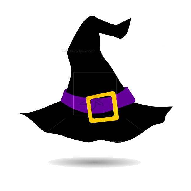 Witch hat illustration free clipart clip free Witch Hat Halloween Vector Free Vectors Illustrations ... clip free