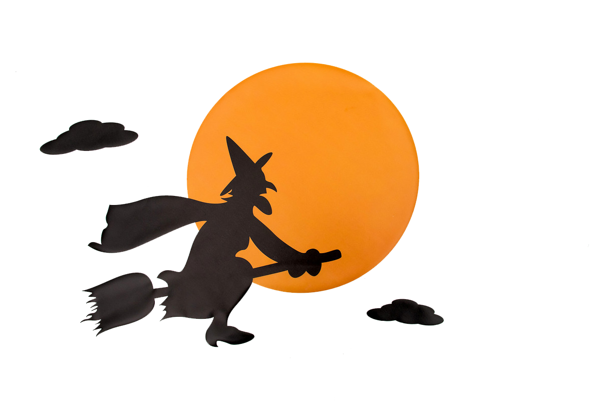 Witch moon clipart free clip art library library Witchs broom Witchcraft Clip art - Cartoon moon png download ... clip art library library