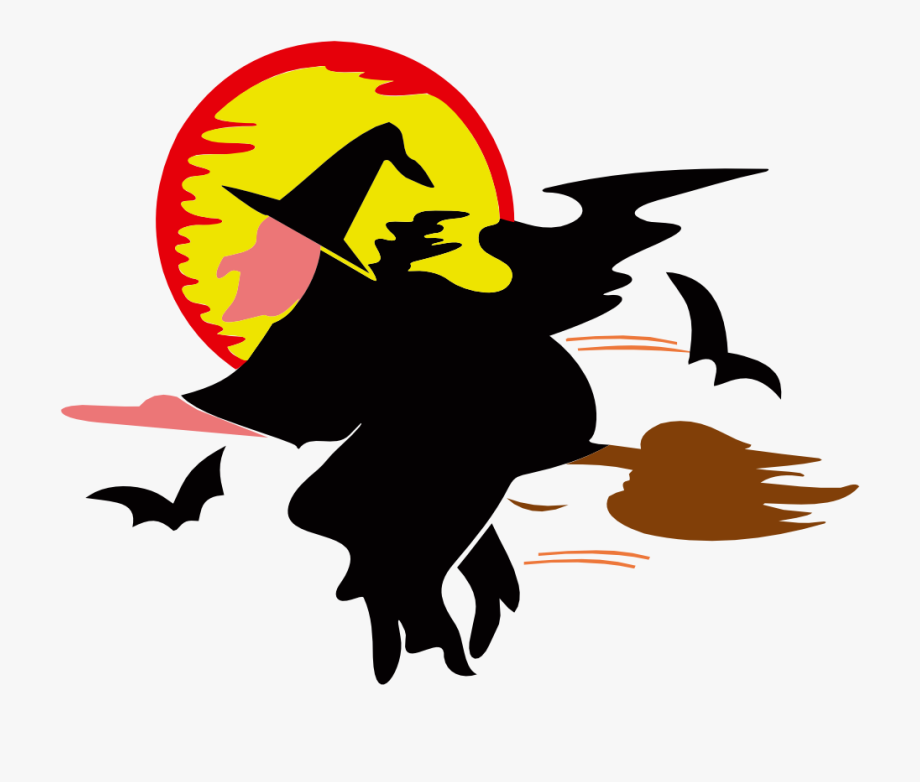 Witch moon clipart free clipart transparent Witch Over Harvest Moon - Witch Animated #86029 - Free ... clipart transparent