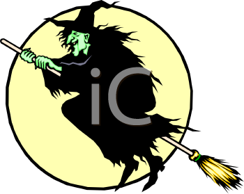 Witch moon clipart free banner free stock Witch Moon Clipart - Free Clip Art Images | halloween-witch ... banner free stock