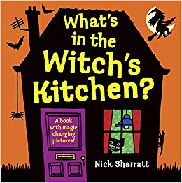 Witch shriek clipart banner library stock What\'s in the Witch\'s Kitchen?: Nick Sharratt: 9780763652241 ... banner library stock