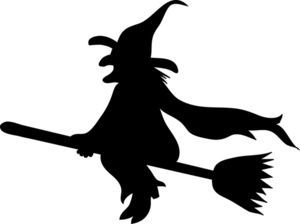 Witch silhouette images clipart black and white library Witch silhouette clipart » Clipart Portal black and white library