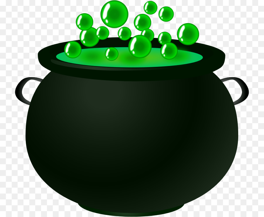 Witch with cauldron clipart royalty free library Halloween Cartoon Background clipart - Green, Product ... royalty free library