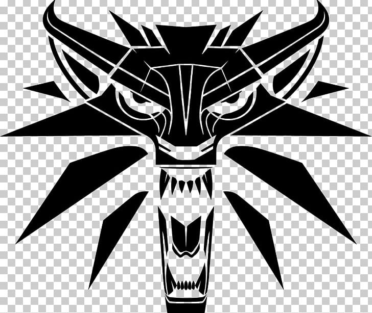Witcher 3 clipart image black and white The Witcher 3: Wild Hunt Geralt Of Rivia Logo Decal PNG ... image black and white