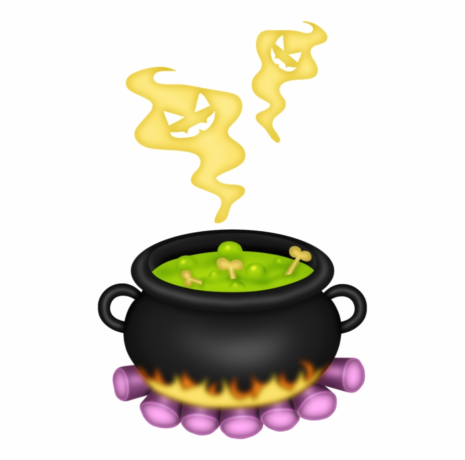 Witches brew pot clipart vector transparent library Free Cauldron Clipart Black And White, Download Free Clip ... vector transparent library