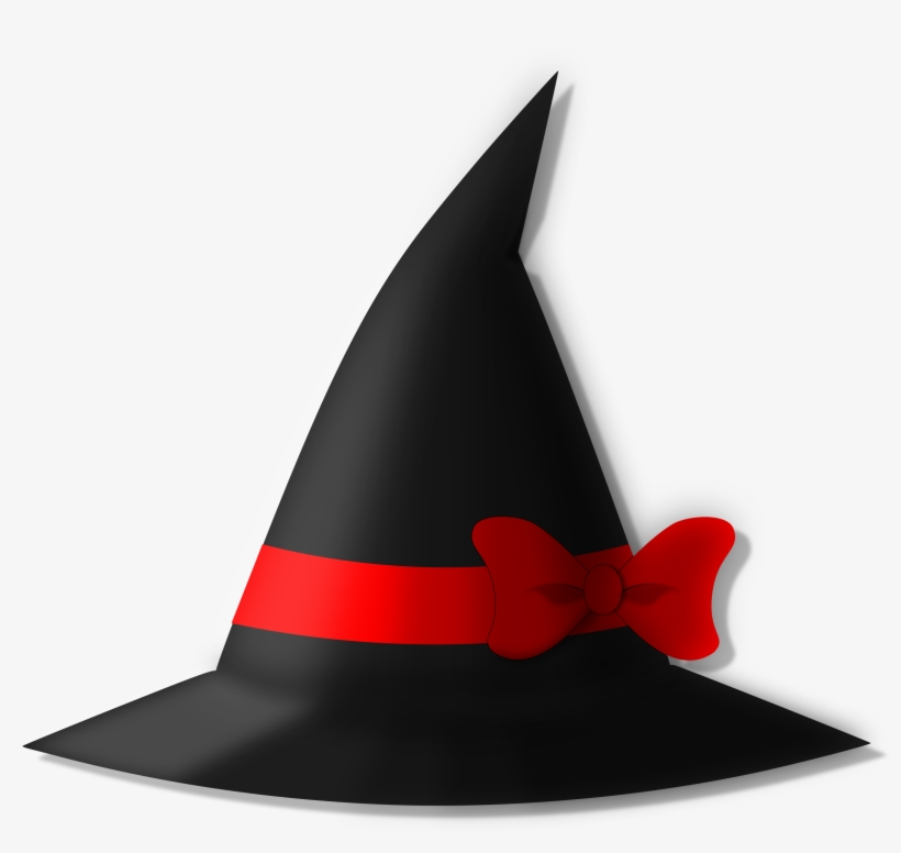 Witches broom and staff clipart svg black and white Witch Hat Clipart Real Witch - Clip Art - Free Transparent ... svg black and white