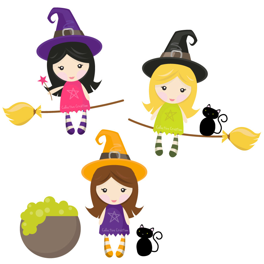 Witches clipart graphic library library Free Witch Cliparts, Download Free Clip Art, Free Clip Art ... graphic library library