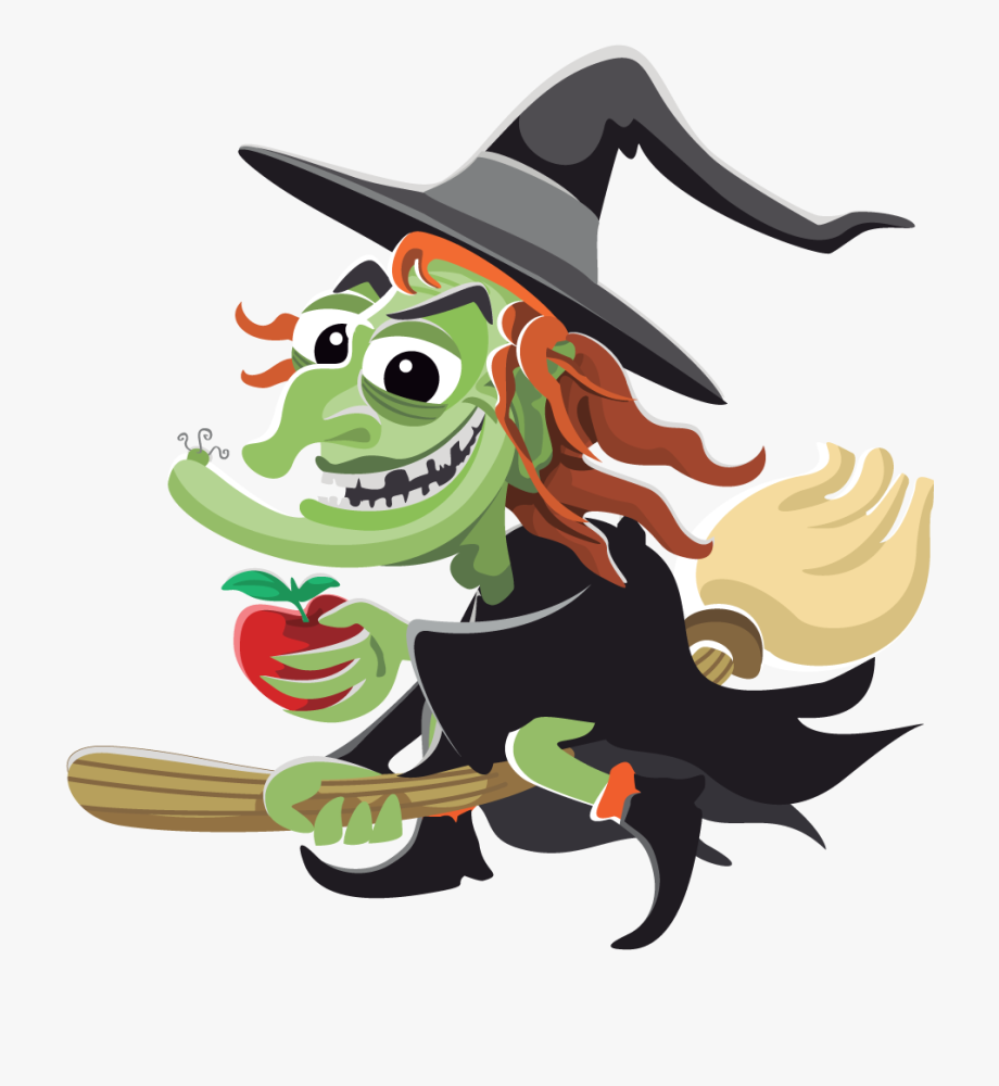 Witcj clipart library Fun Halloween Witch Clipart Kid - Witch Clipart Png ... library