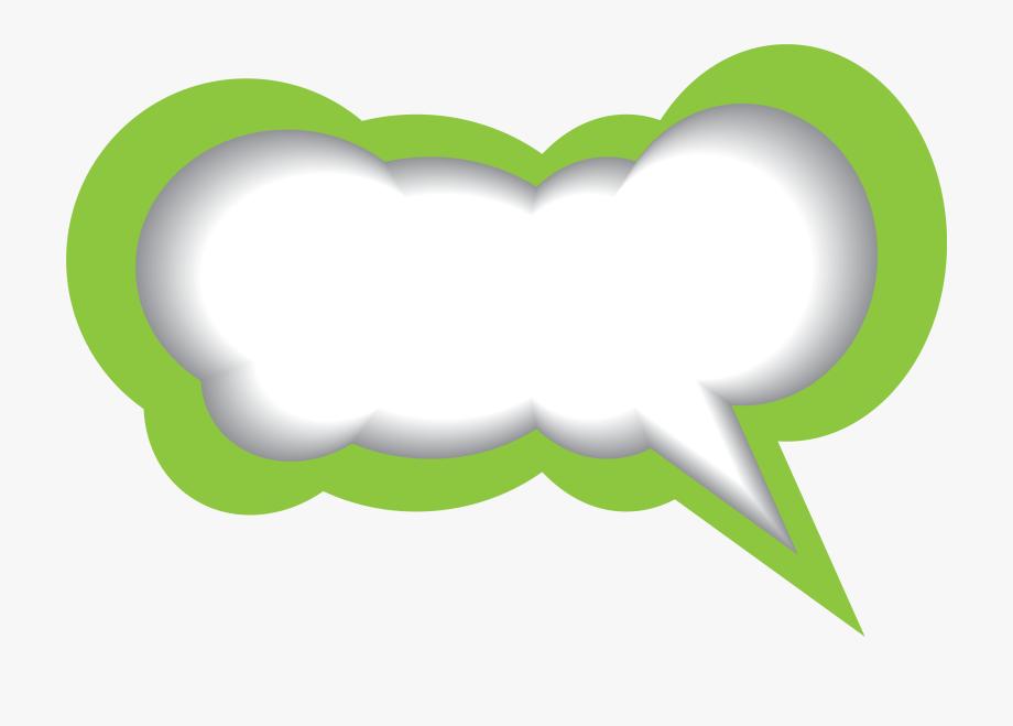 With clipart png clip art Transparent Bubble Clipart Png - Speech Bubble Green Png ... clip art