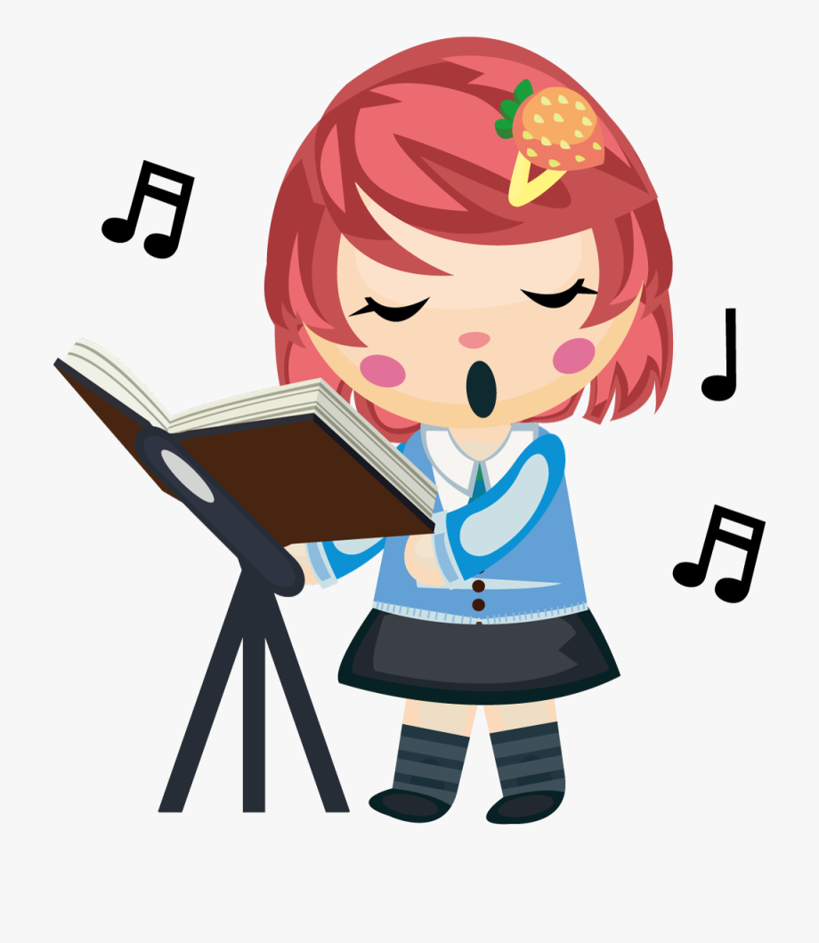 Singing girl images clipart banner stock Sing Clipart Girl Singer - Song Clipart Png #1288334 - Free ... banner stock