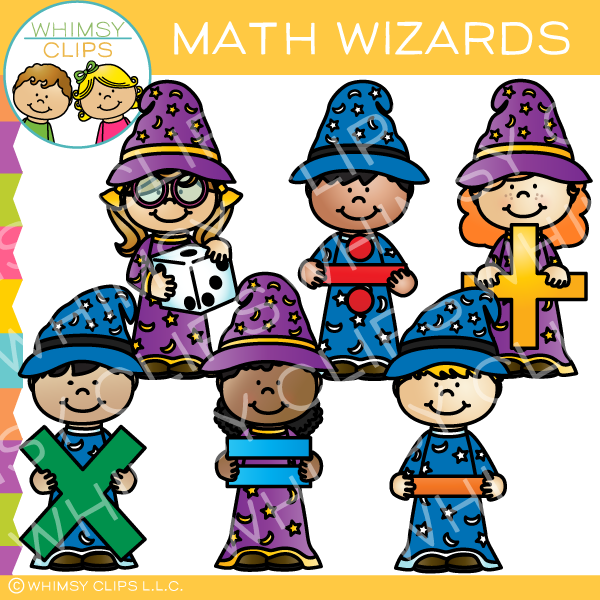 Wizard clipart for kids banner transparent download Wizard kids clip art , Images & Illustrations | Whimsy Clips ® banner transparent download
