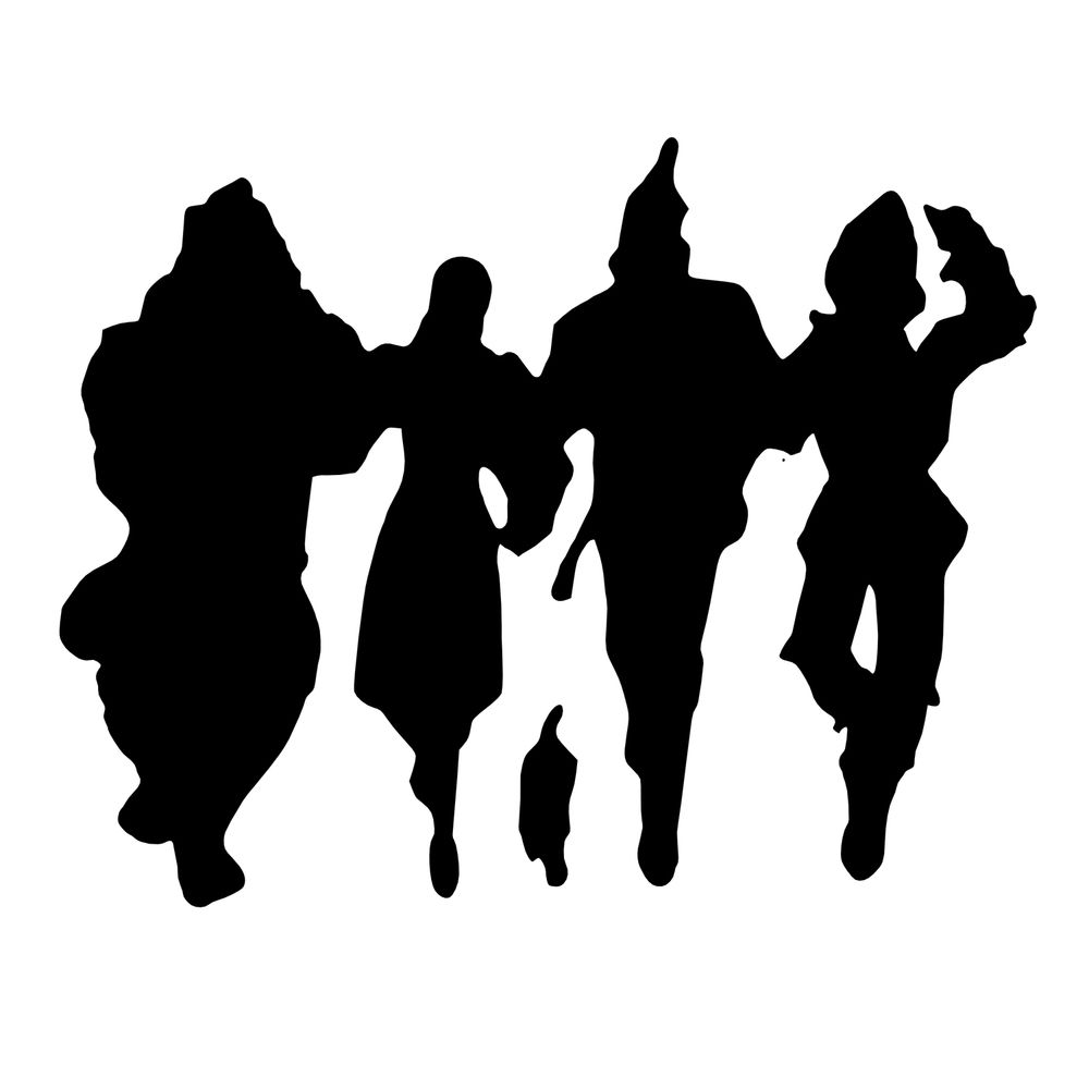 Wizard of oz clipart black and white svg transparent library Wizard Of Oz Character Silhouette Wizard of oz character ... svg transparent library
