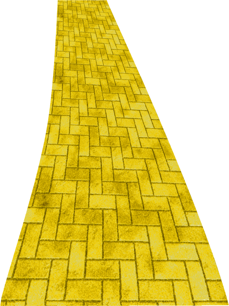 Wizard of oz crown clipart clip art transparent library Yellow Brick Road | Pinterest | Yellow brick road and Brick road clip art transparent library