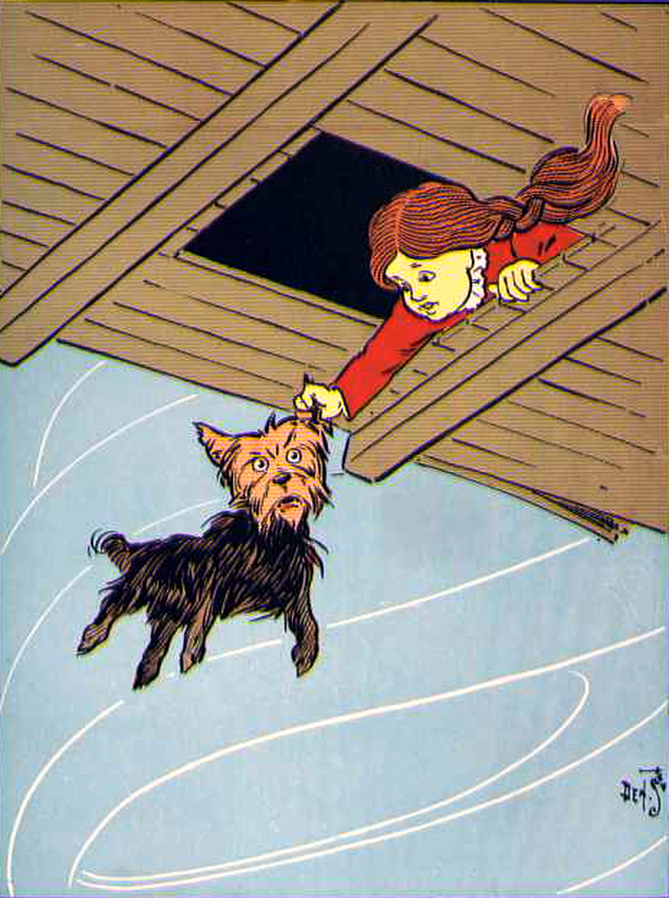 Wizard of oz dorothy dog toto clipart clipart royalty free download The Wonderful Wizard of Oz Dorothy and Toto Clip Art Image ... clipart royalty free download