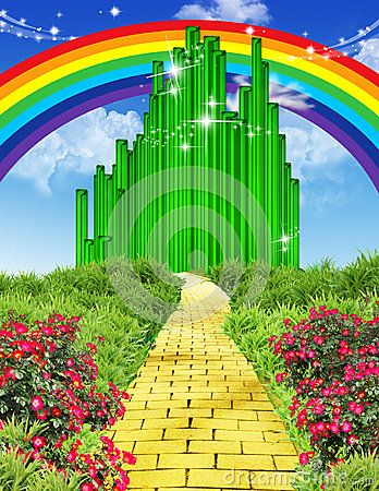 Wizard of oz rainbow clipart vector library library Wizard Of Oz Clipart Emerald City Disney world wizard of oz ... vector library library