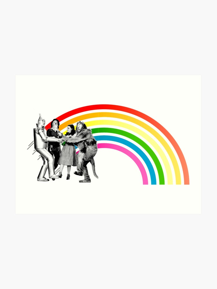 Wizard of oz rainbow clipart clip art freeuse library Wizard of Oz Rainbow | Art Print clip art freeuse library