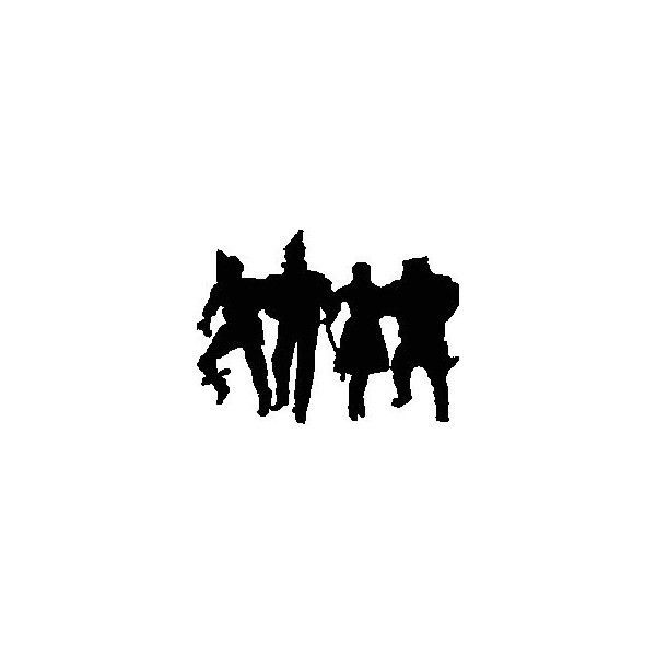 Wizard of oz silhouette clipart graphic free download The Wizard of Oz silhouette | Craft Ideas | Wizard of oz ... graphic free download