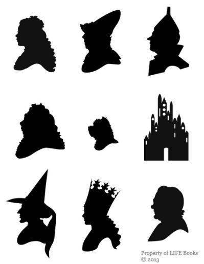 Wizard of oz silhouette clipart freeuse stock Wizard Of Oz Silhouette Pictures | Elliott\'s first birthday ... freeuse stock